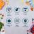 Luxury & Grace 4er Packung Glas Frischhaltedosen. Verschiedene Größen (0,36+0,60+1+1,50 L). Luftdicht. Geeignet für Mikrowelle, Ofen, Gefrierschrank und Spülmaschine. BPA frei. - 6