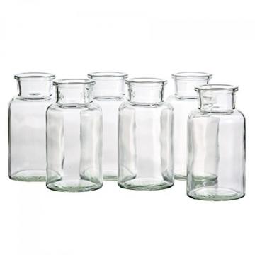 MamboCat 12er Set Gewürzgläser | Füllmenge 300 ml | Wiederverwendbare Glasdose + Korkverschluss | Hochwertiges rundes Glas | Aufbewahrung von Tee Kräutern Gewürzen - 7