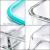 MASTERTOP 6er Glas-Frischhaltedosen Set (6 Glasbehälter + 6 Deckel) Transparentes Aufbewahrungsbox,Luftdichte Aufschnittbox mit Deckel zum Aufbewahren - 7
