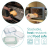 Navaris Glas Frischhaltedose Set mit Deckel - 3x Vorratsdosen in 3 Größen - auslaufsicher hitzebeständig kältebeständig - Glasbehälter Boxen - 4