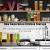 Numyton Stapelbare 4er-Set Frischhaltedosen mit Deckel BPA frei Vorratsdosen Lebensmitteldosen, Milchpulverdosen, Trockenfrüchte-Dosen luftdicht & wasserdicht, Weiß/Transparent - 2