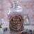 Personello® Graviertes Keksglas Beste Cookies, Keksdose aus Glas mit Wunsch-Namen personalisierbar (Motive und Größen wählbar), originelle Geschenkidee für Naschkatzen (groß = 25cm) - 2