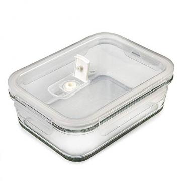 Prep Naturals Glas-Frischhaltedosen 5er-Set mit Deckel Dichte Essensbehälter 885 ml - Lunch-Box, Vorratsdosen, Aufbewahrungsdosen - Mikrowellen-, ofen- u. gefrierschrankgeeignet, spülmaschinenfest - 6