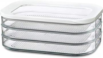 Rosti Mepal Kühlschrankdose Modula Aufschnitt 550/3 Weiß - 1