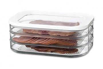 Rosti Mepal Kühlschrankdose Modula Aufschnitt 550/3 Weiß - 3
