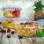 Sendez 10tlg. Frischhaltedosen Größe: 2x1L 2x800ml 1x500ml Glasbehälter Glas Lunchbox Vorratsdosen Brotdose luftdicht BPA-frei mit 4-fach-Klick-Verschluss Silikon-Dichtungsring - 4