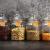 STAR - LINE 4 Vorratsdosen Set Glas 1,2L Groß - Luftdicht mit Dichtung - Vorratsglas Vorratsbehälter für Lebensmittel - 3