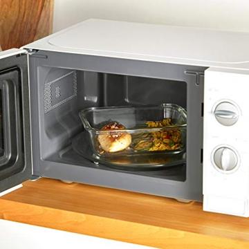 VonShef 12-teiliges Glasbehälter-Set zur Nahrungsmittelaufbewahrung mit Deckeln - 2