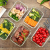 Vorratsbehälter mit Deckel (5-Teiliges of 1040 ml) Rechteckig Glas-Frischhaltedosen, Luftdicht, Lunchboxen - 5