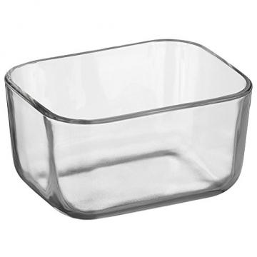 WMF Depot Fresh Vorratsdose, 13 x 10 cm, rechteckig, Glas, Vorratsglas, luftdichter Aroma-Deckel, Frische-Ventil, Frischhaltedose zum Vorbereiten, Aufbewahren und Servieren - 7