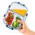 Zoë&Mii hochwertige Glas Frischhaltedose mit Deckel – 8 Teiliges, 3-Fach, Vorratsdosen Glas, Set mit TITAN Deckel – Auslaufsichere Meal Prep Container aus Glas – Praktisches Mikrowellengeschirr-1050ml - 3