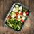 Zoë&Mii Lebensmittelbehälter aus Glas 8 teilige Set 880 ml - Hochwertige und luftdichte Glasschalen BPA-frei - Frischhaltedosen Vorratsdosen mit Smart Lock Deckel - Meal Prep, Glasschüssel mit Deckel - 7